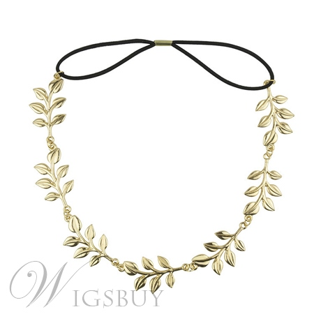 New Arrival Leaf Metal Hair Band