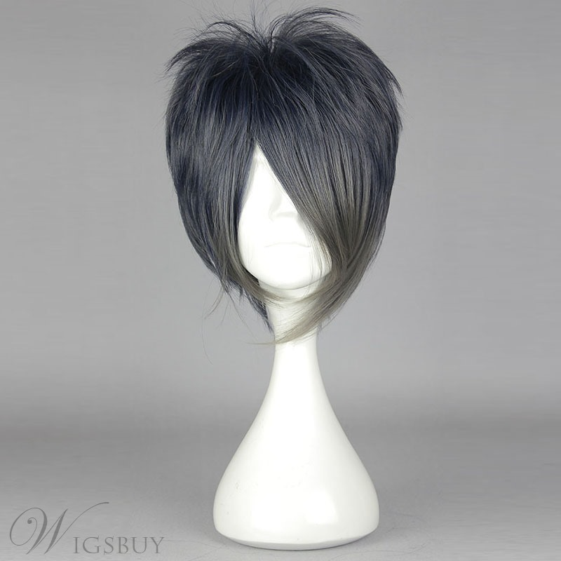 New Arrival Short Straight Mixed Color Cosplay Wig