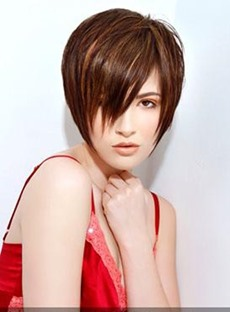 New Arrival Short Straight Synthetic Wig 8 Inches