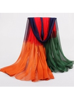 New Arrival Assorted Colors Long Sun Block Scarf