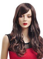 Graceful Long Loose Wave Synthetic Wig 22 Inches