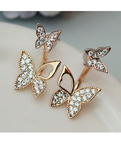 Lovely Sweet Butterfly Women Earrings