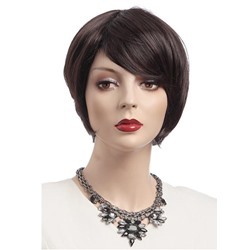 Cool Short Straight Synthetic Wig 8 Inches
