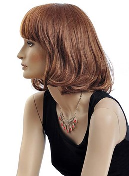 12 Inches Bob Hairstyle Capless Synthetic Wig