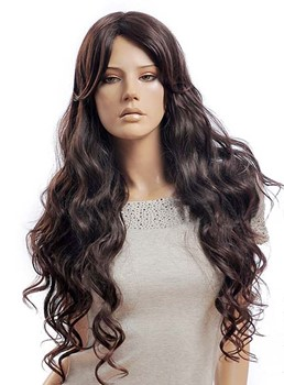 Elegant Long Deep Wave Synthetic Wig 28 Inches