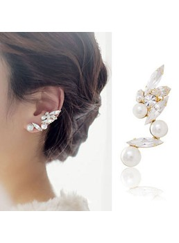 New Arrival Shining Pearl Women Ear Cuff (Price for One)