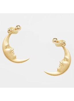 New Arrival Unique Moon Shape Earrings