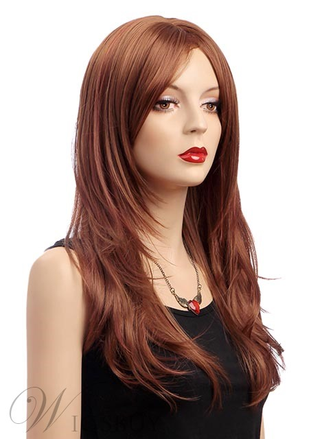 Attractive Long Layered Straight Synthetic Wig 20 Inches