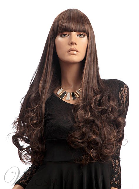 Hot Sale Super Long Curly Synthetic Wig 30 Inches