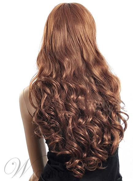 Attractive Super Long Curly Synthetic Wig 24 Inches