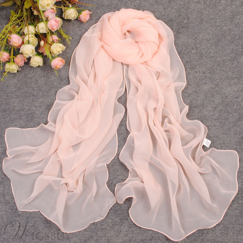 New Arrival Pure Color Beach Scarf