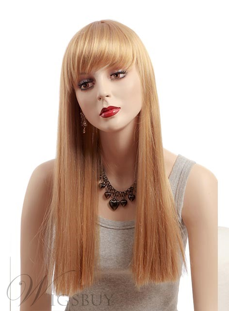 New Arrival Silky Straight Synthetic Wig