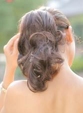 Short Wave Synthetic Clip In Ponytail
