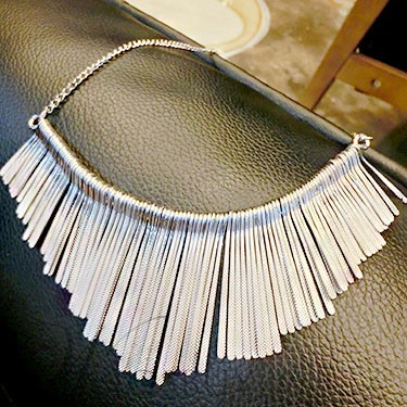 Alloy Tassels Decorated Necklace for Women