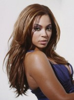 Beyonce Shaggy Hairstyle Long Straight Lace Front Synthetic Wigs 20 Inches