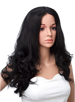 Long Loose Wave Lace Front Synthetic Wigs 18 Inches