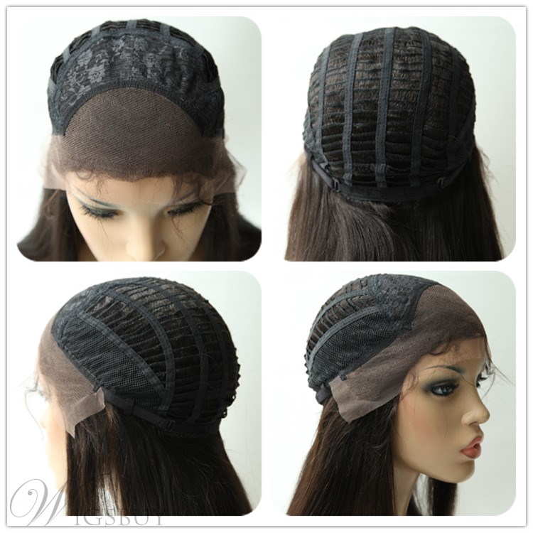 Side Bang Mid-length Loose Wave Lace Front Human Hair Wigs 12 Inches