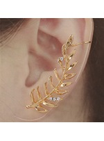 Top Quality Shinning Leave Ear Cuff ( Price for One )