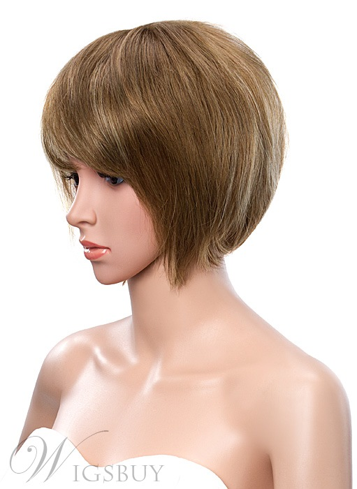 Short Bob Capless Synthetic Wig 10 Inches