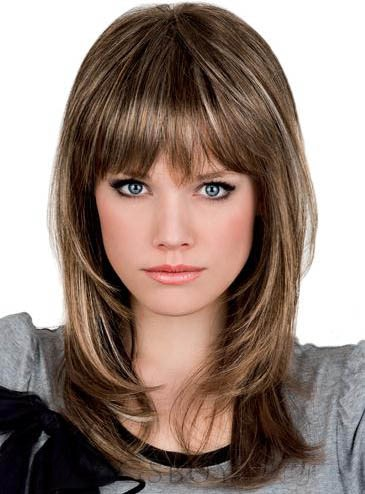 Attractive Long Layered Wave Capless Synthetic Wig 16 Inches