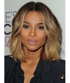 Ciara Medium Loose Wave Lace Front Human Hair Wig 12 Inches