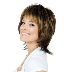 Carefree Medium Straight Capless Synthetic Wig 12 Inches