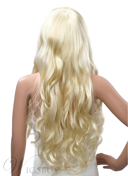 Super Long Bottom Curly Capless Synthetic Wig 26 Inches