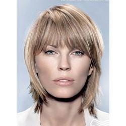 12 Inches Carefree Medium Straight Capless Synthetic Wig