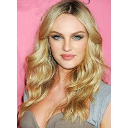 18 Inches Graceful Long Deep Wave Lace Front Synthetic Wig