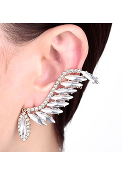 Elegant Wing Shaped Alloy Cuff Earing