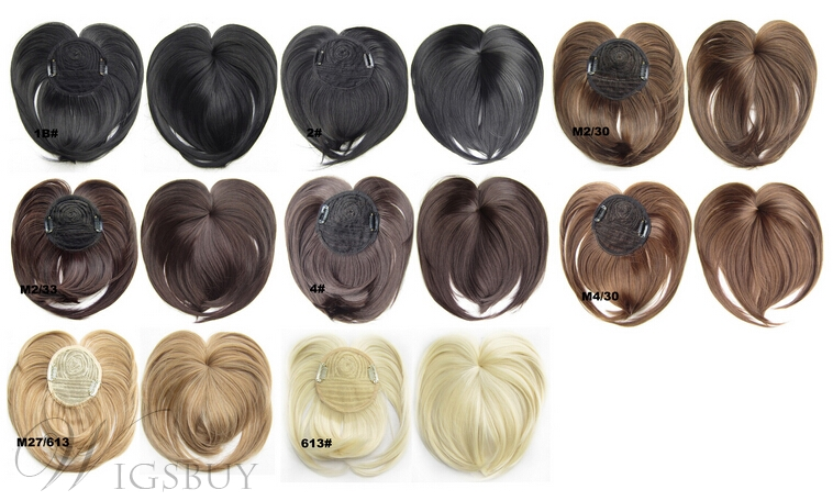 Synthetic Silky Straight Top Quality Bang
