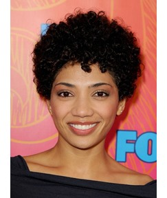 Short Curly 100% Human Hair Lace Front Wigs for African American Wigs