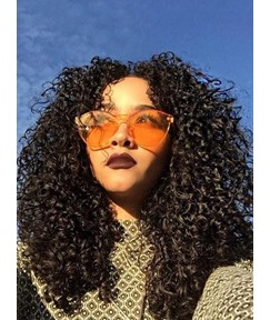 Super Fashion Kinky Curly 7 pcs Clip In Human Hair Extensions