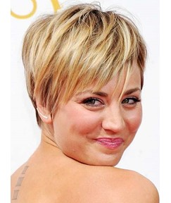 Short Straight Capless Synthetic Wigs 8 Inches