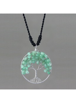 Handmade Tree Pendant Necklace