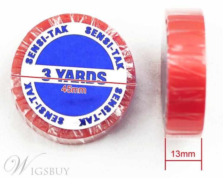 3 Yards Sensi Tak Red Tape for Lace Wigs