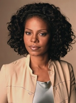 Sannaa Lathan 100% Human Hair Lace Front Deep Curly Women Wigs 12 Inches