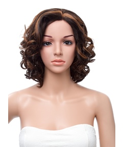 12 Inches Medium Wave Full Lace Human Hair Wig