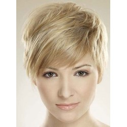 Adorable Short Straight Capless Synthetic Wig