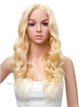 22 Inches Long Deep Wave Lace Front Human Hair Wig