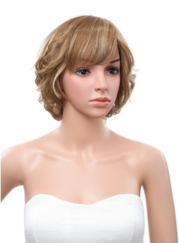 New Fashion 10 Inches Short Layered Straight Capless Human Hair Wig
