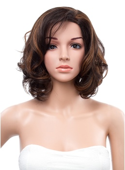 12 Inches Bob Wave Lace Front Human Hair Wig