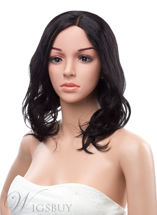 12 Inches Medium Loose Wave Lace Front Human Hair Wig
