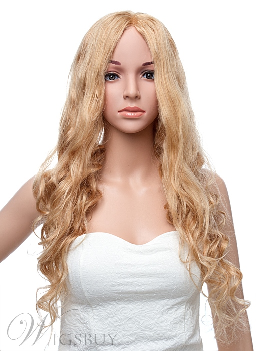 26 Inches Super Long Natural Wave Lace Front Human Hair Wig