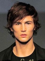 New Trend Carefree Short Straight Human Hair Wig for Men 10 Inches