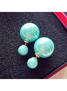 Fashion Ball Shaped Earrings