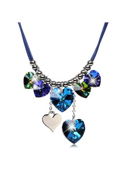 The Heart of the Ocean Pendants Necklace