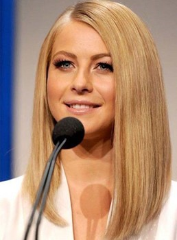Charming LOB Silky Straight Hairstyle Full Lace 100% Remy Human Hair Wig 14 Inches