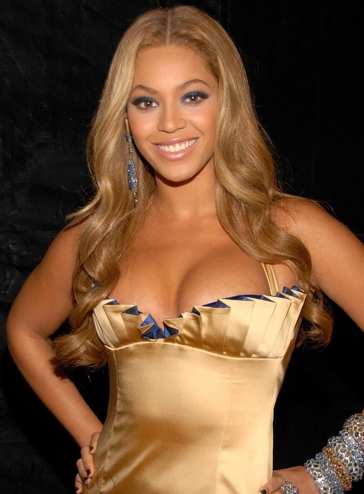 Beyonce hairstyle synthetic lace wig makes you super sexy for See hot images
