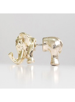 Exquisite Elephant Shaped Alloy Ear Clip